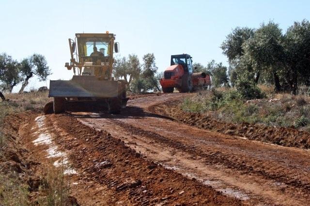arreglar caminos rurales - amezcua